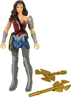 DC Justice League Wonder Woman Battle-Ready Figure, 6