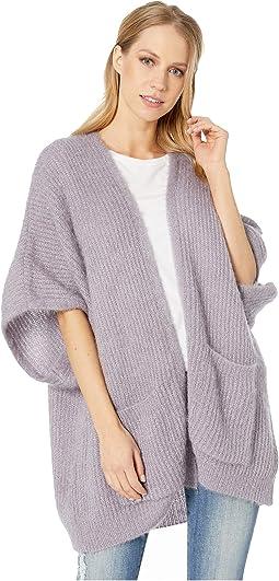 Shiney Cloud Knit Kimono
