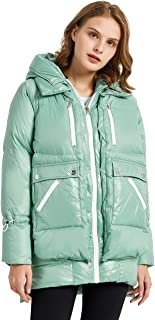 Sponsored Ad - Orolay Women's Fleece Down Coat Thickened Winter Puffer Down Jacket