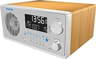Sangean WR-22SE AM/FM-RDS/Bluetooth/USB Table-Top Digital Tuning Receiver w/Remote..