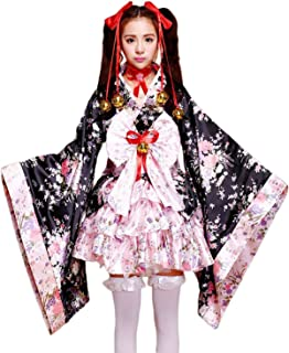 Anime Cosplay Lolita Halloween Fancy Dress Japanese Kimono Costume