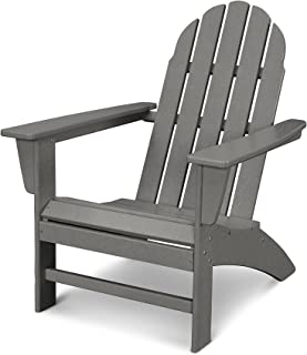 POLYWOOD Vineyard Adirondack Chair (Slate Grey)
