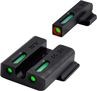 TRUGLO TFX Pro Tritium and Fiber Optic Xtreme Hangun Sights for Smith & Wesson Pistols, S&W M&P, SD9 and SD40