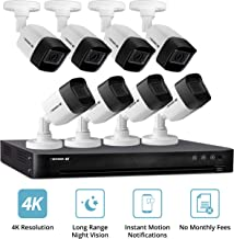 Defender Ultra 4K (8MP) DIY Wired Security System with 8 Weather Resistant, Night Vision Cameras, 2TB Hard Drive and Remote Mobile Viewing
