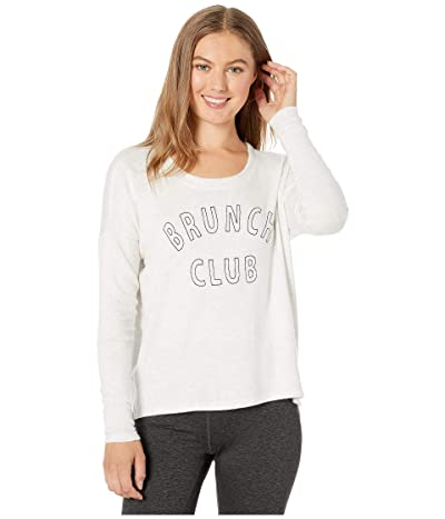 SUNDoWN by River+Sky Brunch Club Tee (Grey Pearl) Women