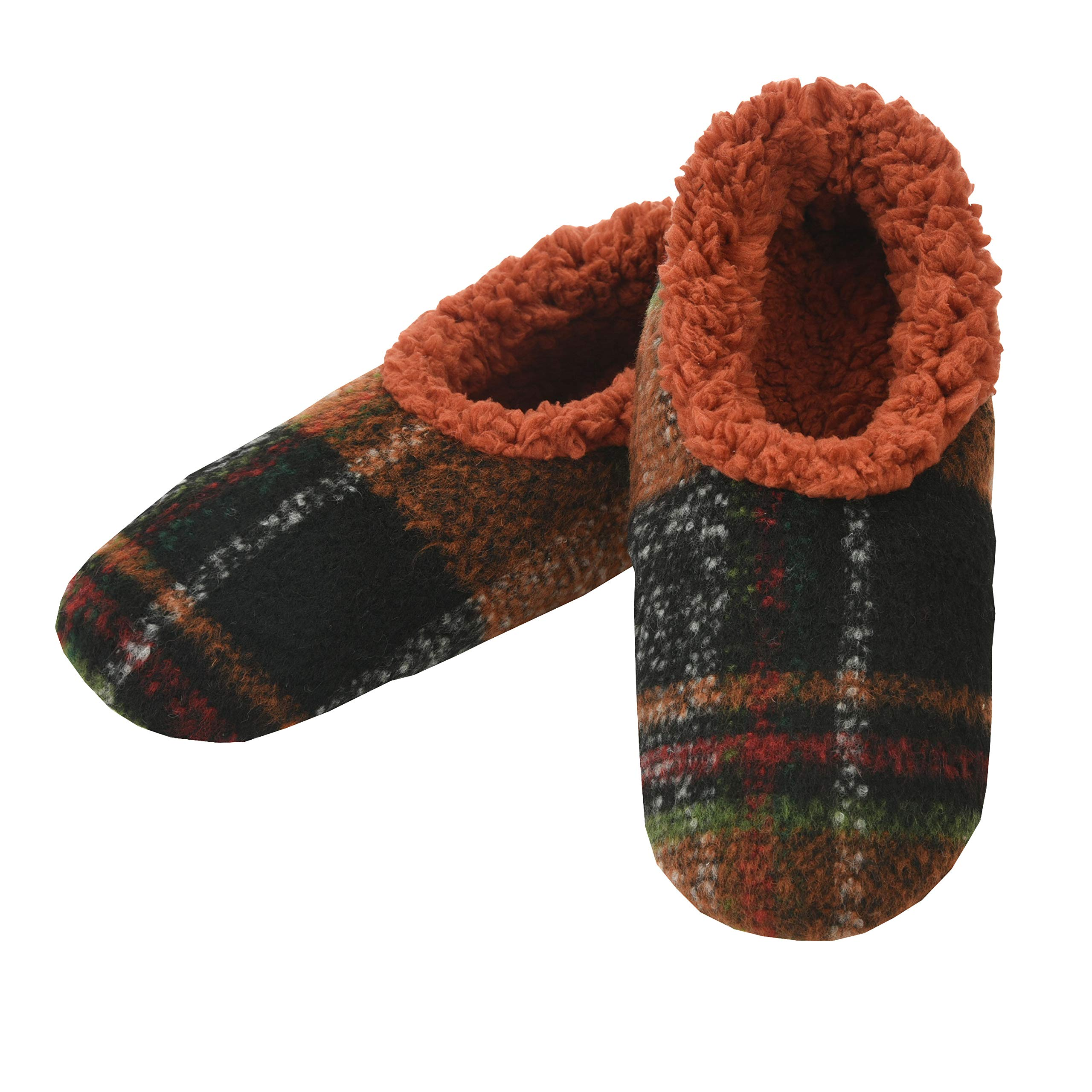Mens House Slippers Plaids of Bold Slippers for Men Mens Slippers House Slippers for Men Snoozies Mens Slippers