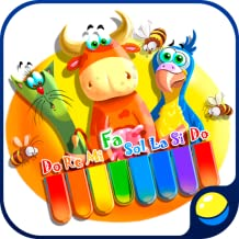 Baby Zoo Piano with cats and other animals for little kids - fun educational game for preschool children to learn music notes, piano keys, animal sounds and voices, play and record melodies, train fine motor skills, ear for music and have a good time