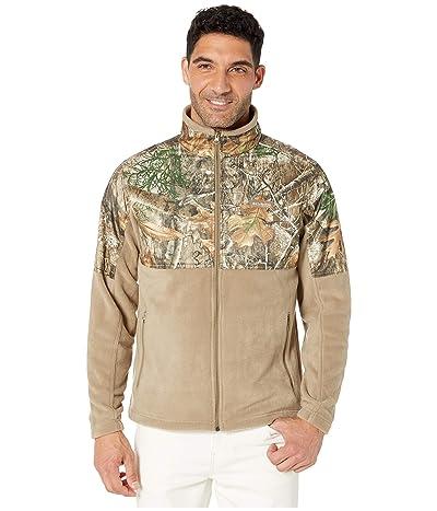 Columbia PHGtm Fleece Overlay Jacket (Flax/Real Tree Edge) Men