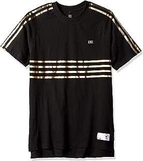 Men's Stripe Short Sleeve Fashion Tee