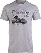 My Retirement Plan (Motorcycle) | Funny Biker Riding Rider Retired Man T-Shirt