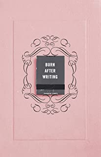 Burn After Writing: THE INTERNATIONAL BESTSELLER - As seen on TikTok
