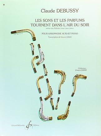 DEBUSSY - Les Sons et les Parfums tournent dans le air du Soir para Saxofon Mib y Piano (David)