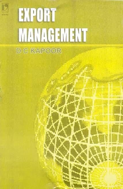 Export Management (English Edition)