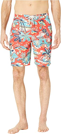 Aloha Island Kailua Swim Trunks