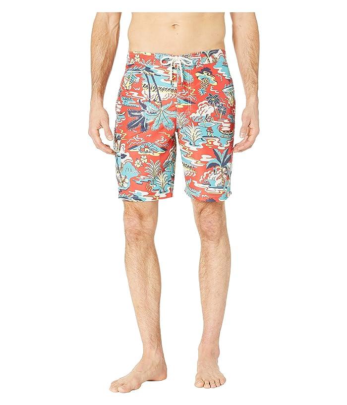 Polo Ralph Lauren Aloha Island Kailua Swim Trunks (Vintage Palm Island) Men