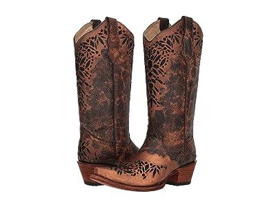 Corral Boots L5368 (Shedron Black) Women