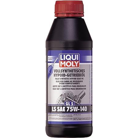 Liqui Moly 20042 Moly 4420 Vollsynthetisches Hypoid Getriebeöl Gl5 Ls Sae 75w 140 500 Ml Auto