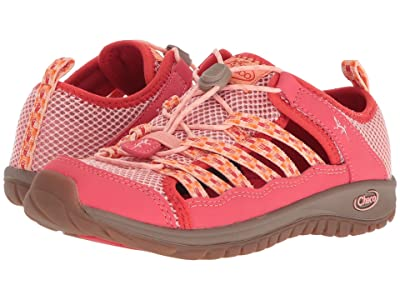 Chaco Kids Outcross 2 (Toddler/Little Kid/Big Kid) (Peach) Girls Shoes