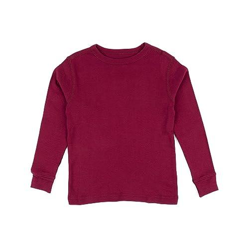 79eaee5a64d9 Leveret Long Sleeve Boys Girls Kids   Toddler T-Shirt 100% Cotton (2