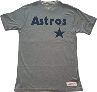 Mitchell & Ness Houston Astros T-Shirt Cooperstown Collection Shirt