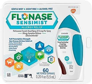Flonase Sensimist Allergy Relief Gentle Mist Scent-Free Nasal Spray 60 sprays