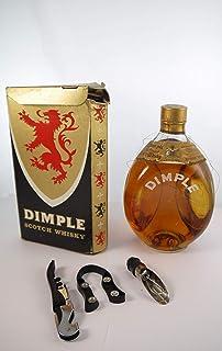 """Dimple Scotch Whisky 1970""""s Original Box in einer Geschenkbox, da zu 3 Weinaccessoires"""