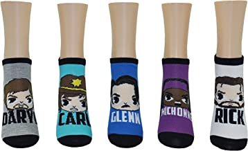 The Walking Dead Socks (5 Pair) - Ladies Apparel - TWD Fun Novelty Low Cut Socks