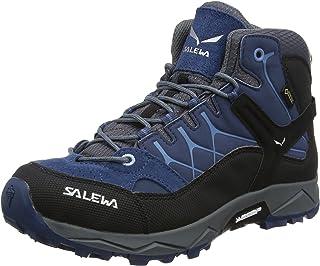 SALEWA Jr Alp Trainer Mid Gore-Tex, Scarpe da Arrampicata Alta Unisex-Bambini