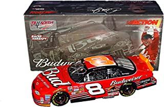 AUTOGRAPHED 2002 Dale Earnhardt Jr. #8 Budweiser Racing 3X TALLADEGA WIN (Raced Version) Winston Cup Series Vintage Signed Action 1/24 NASCAR Diecast Car with COA (1 of only 17,052 produced!)