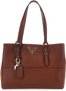 Luxury Fashion | Guess Womens HWVG7403230COGNAC Brown Shoulder Bag | Fall Winter 19