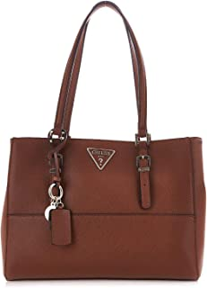 Luxury Fashion | Guess Womens HWVG7403230COGNAC Brown Shoulder Bag | Fall Winter 19