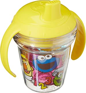 Tervis 1300735 Sesame Street Original Group Insulated Tumbler with Wrap Lid, 6 oz, Clear