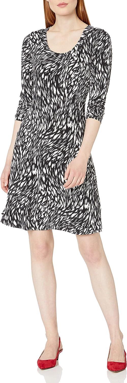Karen Kane Women's Long Sleeve A-line Dress