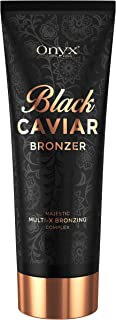 Tanning Lotion Black Caviar Black Bronzer with Multi-X Bronzing Complex for Immediate and Long Lasting Results Powerful Effects for Advanced Tanners