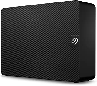 Seagate Expansion 12TB External Hard Drive HDD - USB 3.0, with Rescue Data Recovery Services (STKP12000402)