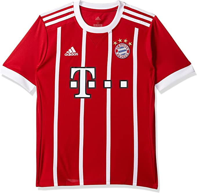 adidas FC Bayern München Home Replica Jersey Youth 2017/18 Maglietta Bambino