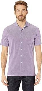 Bugatchi Men's Julian Short Sleeve Button-Up Shirt