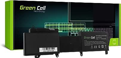 Green Cell  2NJNF 911MD T41MO T41M0 TPMCF 8JVDG Laptop Akku f r Dell Inspiron 14z 5423 15z 5523  Li-Polymer Zellen 3900mAh 11 1V Schwarz