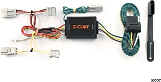 CURT 55502 Vehicle-Side Custom 4-Pin Trailer Wiring Harness for Select Honda Accord, Acura TSX