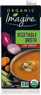 Imagine Organic Low-Sodium Vegetable Broth, 32 oz.