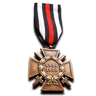 Military Medal The Honour Cross of The World War 1914/1918 WW1 German Hindenburg Cross Repro