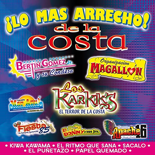 Lo Más Arrecho de la Costa de Various artists en Amazon Music - Amazon.es