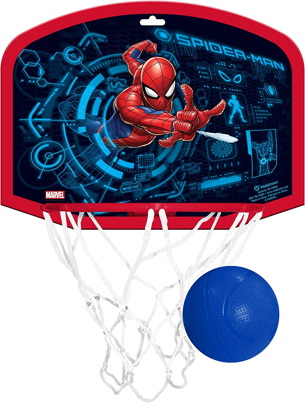 Hedstrom Over The Door Plastic Hoop Set, Marvel Spiderman