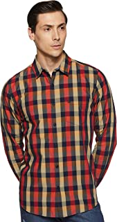 United Colors of Benetton Men's Checkered Slim fit Casual Shirt