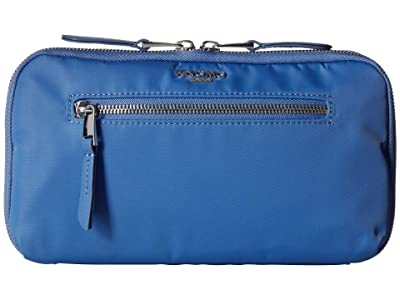 KNOMO London Knomad Travel Wallet (Cornflower Blue) Bags
