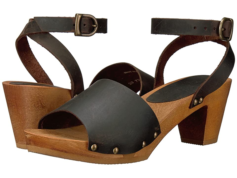 Sanita Yara Square Flex Sandal (Antique Brown) Women