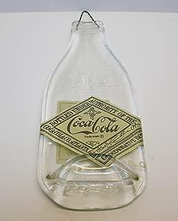 Atlanta Coca-Cola Bottling 75th Anniversary Commemorative Coke Bottle Slumped for Spoon Rest