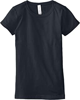 Clementine Girls` T Crew Neck 100% Soft Cotton Short Shirts Tees Assorted Colors