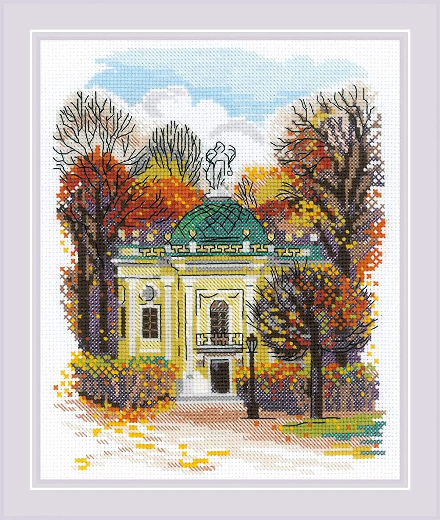 RIOLIS 1760 - Homestead Kuskovo. Hermitage (Russia) - Cross Stitch Kit 6?