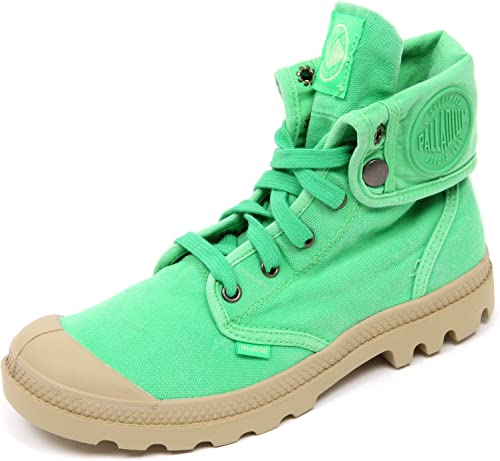 D2094 Turnzapatos mujer PALLADIUM BAGGY zapatos verde vintage zapatos woman